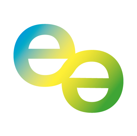 """Logo von hannover erneuerbar zwei """"e"""" s miteinander vermischt"""